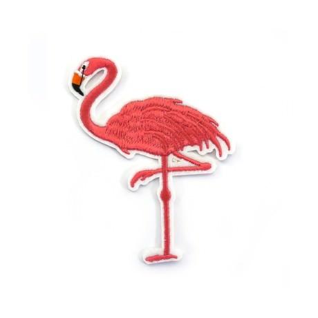 Aufnäher Patch Abzeichen Aufbügler Flicken - Flamingo