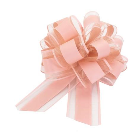 Geschenkschleife Matt Deko Schleifen für Geschenke Tüten  uvm - rosa
