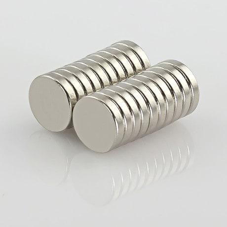 Neodym Magnet Extrem N42 ø 10 x 2 mm