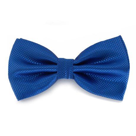 Fliege Schleife kariert Hochzeit Anzug Smoking - königsblau