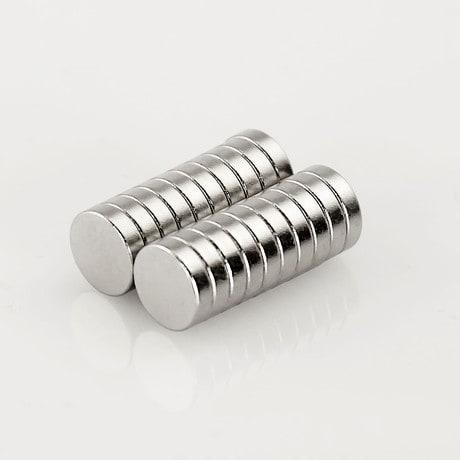 Neodym Magnet Extrem N50 ø 8 x 2 mm