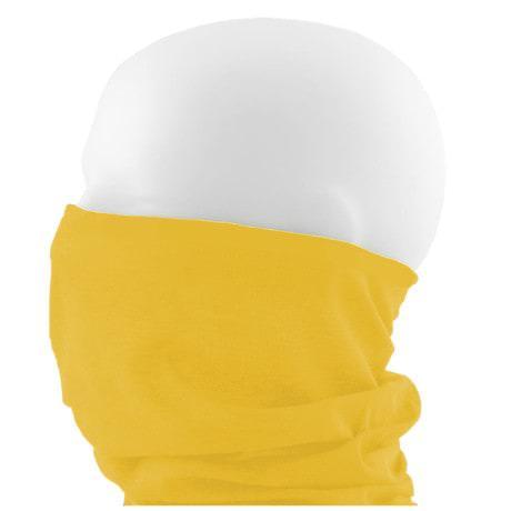 Multifunktionstuch Schlauchtuch Halstuch Motorrad - Pure Yellow