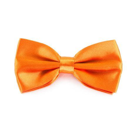 Kinder Fliege Schleife verstellbar Hochzeit Anzug Smoking - orange