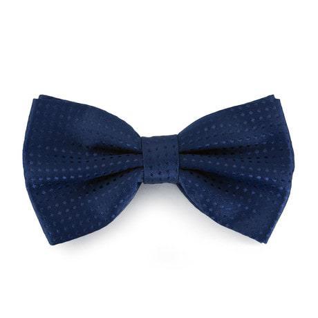 Fliege Schleife gepunktet Hochzeit Anzug Smoking - dunkelblau