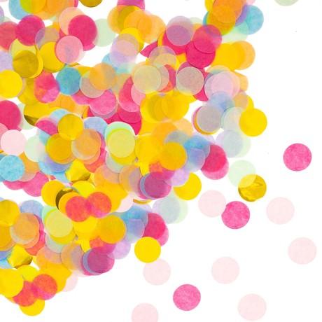Papier Konfetti 1000 Stk Tischdeko Geburtstag Party Hochzeit - Mix 3