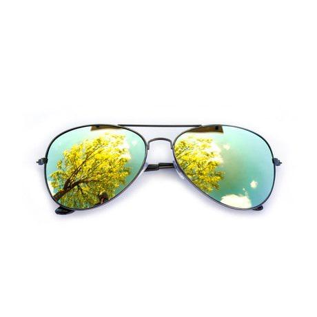 Pilotenbrille Sonnenbrille Herren Damen Flieger gold