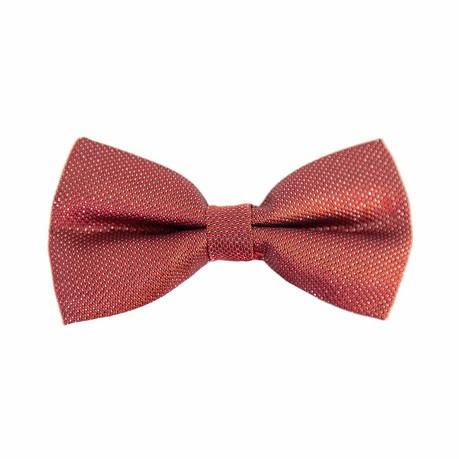 Fliege Schleife gepunktet glitzernd Hochzeit Anzug Smoking - rot
