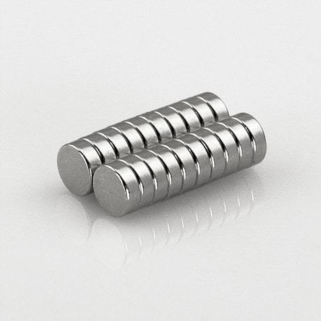Neodym Magnet Extrem N50 ø 6 x 2 mm