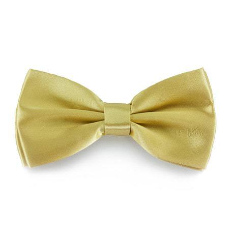 Fliege Schleife Hochzeit Anzug Smoking - light-gold