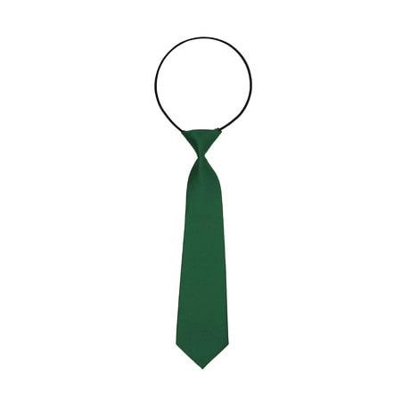 Kinder Krawatte Schlips gebunden dehnbar - grün
