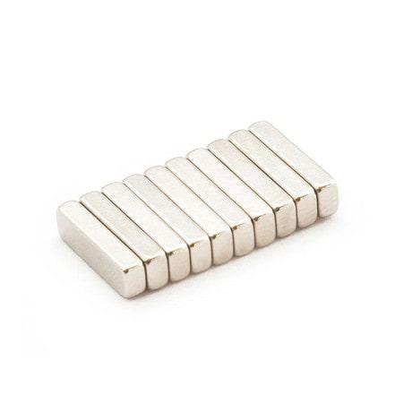 Neodym Magnet N38 14 x 4 x 2,5 mm