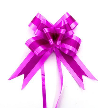 10 Geschenkschleifen mit Geschenkbändern Deko Schleifen - pink