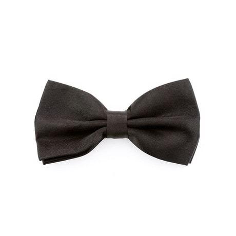Kinder Fliege Schleife verstellbar Hochzeit Anzug Smoking - schwarz