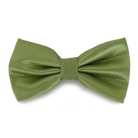 Fliege Schleife kariert Hochzeit Anzug Smoking - grassgrün