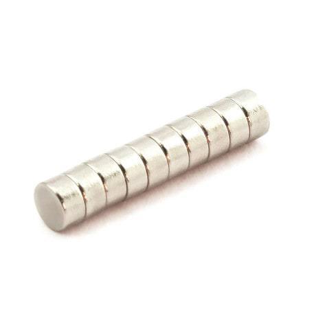 Neodym Magnet N38 ø 6 x 3 mm