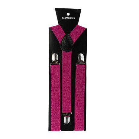 Hosenträger Unisex verstellbar Y -Form - pink