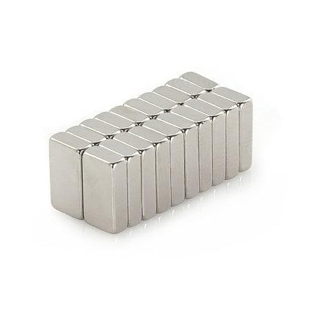 Neodym Magnet N38 10 x 5,5 x 2,5 mm
