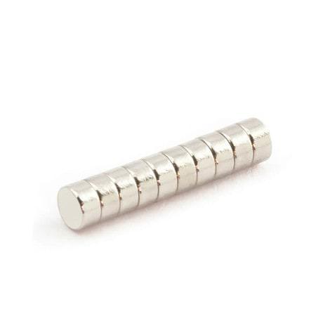 Neodym Magnet N38 ø 4 x 2 mm