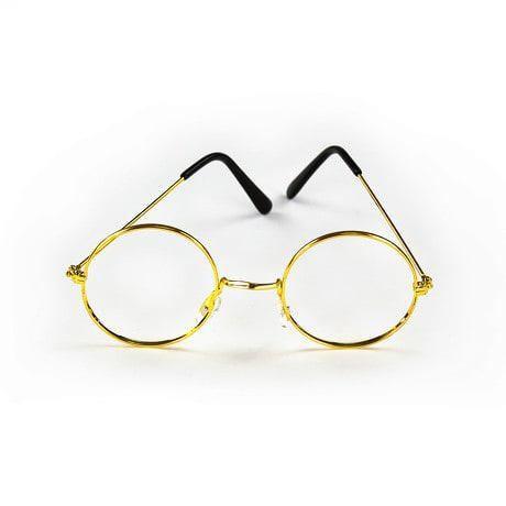 Brille Rund Oma Opa ohne Gläser Verkleiden Weihnachtsmann Nikolaus