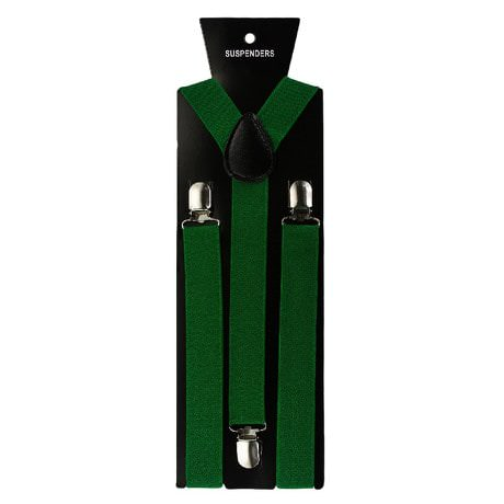 Hosenträger Unisex verstellbar Y -Form - grün