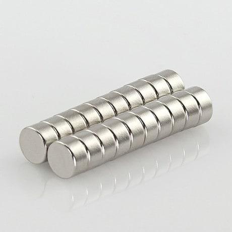 Neodym Magnet Extrem N45 ø 6 x 3 mm