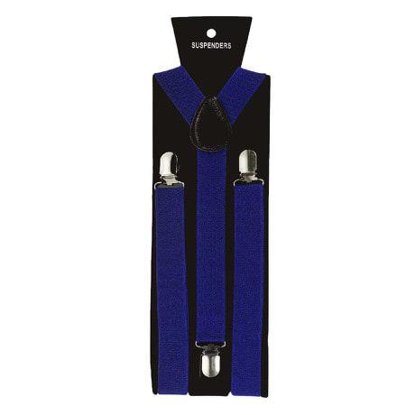 Hosenträger Unisex verstellbar Y -Form - königsblau