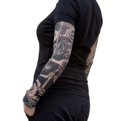 Tattoo Ärmel Strümpfe Armstulpen Motiv - the wanderer