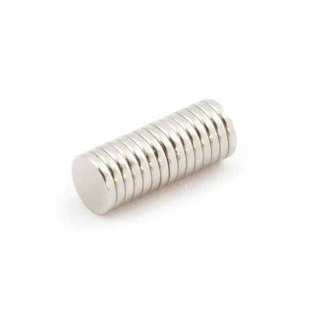 Neodym Magnet N38 ø 6 x 1 mm