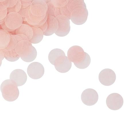 Papier Konfetti 1000 Stk Tischdeko Geburtstag Party Hochzeit - rosa