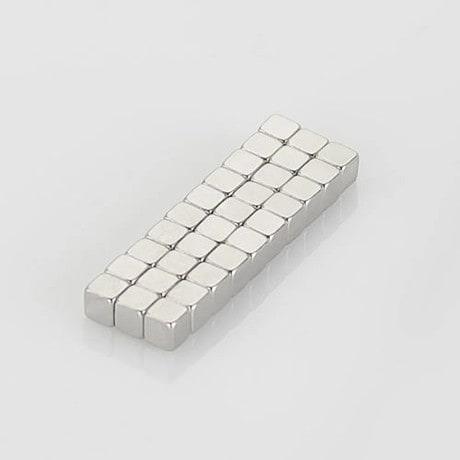 Neodym Magnet Würfelmagnet Extrem N52 3 x 3 x 3 mm