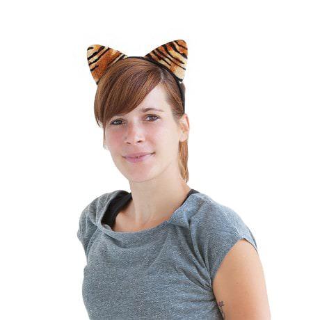Haarreif Haarreifen Tigerohren Kostüm Fasching Karneval