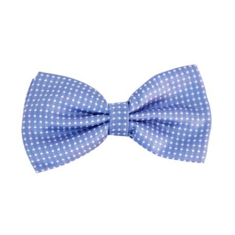 Fliege Schleife gepunktet Hochzeit Anzug Smoking - hellblau