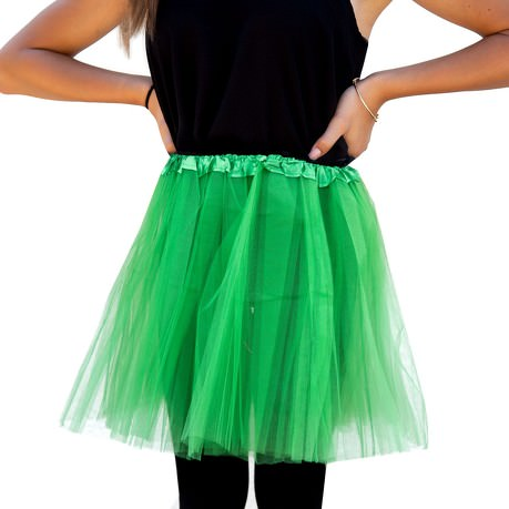 Tutu Tütü Damen Rock grün Tüllrock Unterrock Kostüm ...
