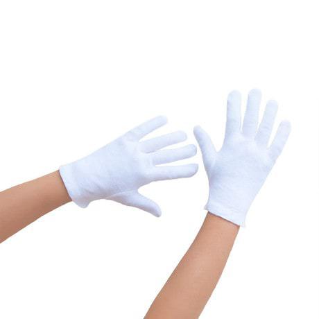 Kinder Handschuhe Pantomime Butler Kostüm - weiß