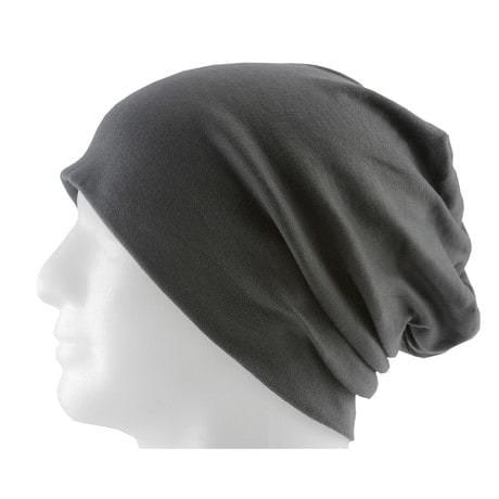 Long Beanie XXL Mütze Slouch Damen Herren Kinder Mütze - smokey grey