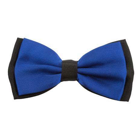 Fliege Schleife Hochzeit Anzug Smoking - schwarz-blau