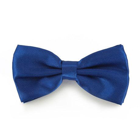 Fliege Schleife Hochzeit Anzug Smoking - königsblau