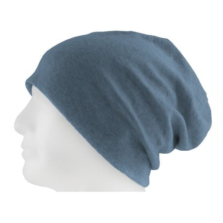 Long Beanie XXL Mütze Slouch Damen Herren Kinder Mütze - blue sand