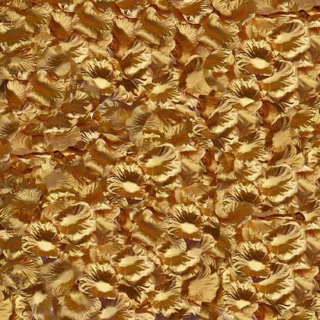 100 Rosenblätter Rosenblüten Hochzeit Deko Valentinstag Rose - gold