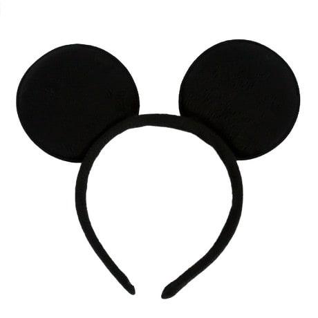 Haarreif Haarreifen Mickey Mouse Maus Ohren Fasching Karneval