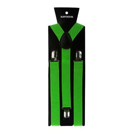 Hosenträger Unisex verstellbar Y -Form - neon grün