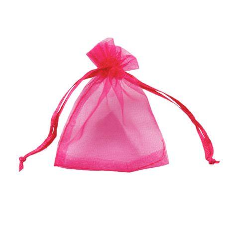 Organzasäckchen Organzabeutel Schmuckbeutel Säckchen Organza pink