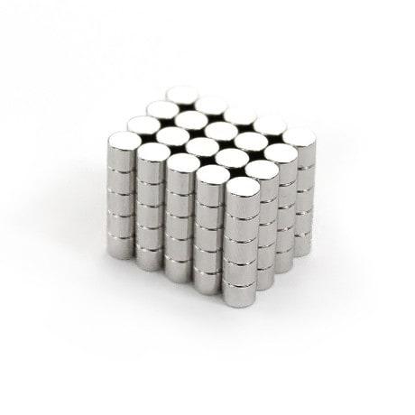 Neodym Magnet N38 ø 5 x 4 mm