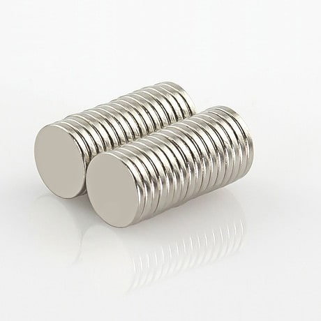 Neodym Magnet Extrem N52 ø 8 x 1 mm