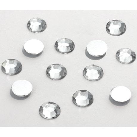 50 Acryl Strasssteine Glitzersteine Diamanten 10mm