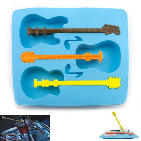 Eiswürfelform Eiswürfel Form Eiswürfelbereiter Silikon - Gitarre