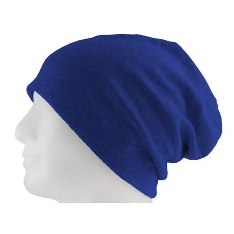 Long Beanie XXL Mütze Slouch Damen Herren Kinder Mütze - king blue