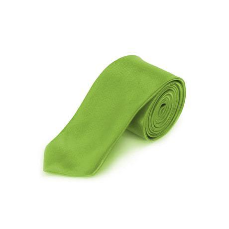 Krawatte Schlips schmal Binder Style - grasgrün