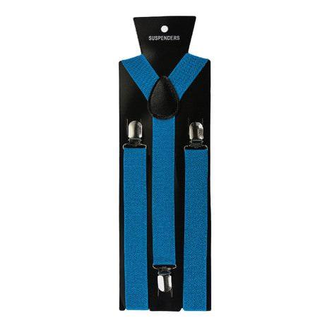Hosenträger Unisex verstellbar Y -Form - babyblau