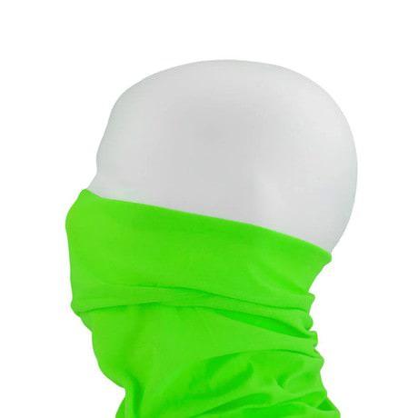 Multifunktionstuch Schlauchtuch Halstuch Motorrad - Neon Grün